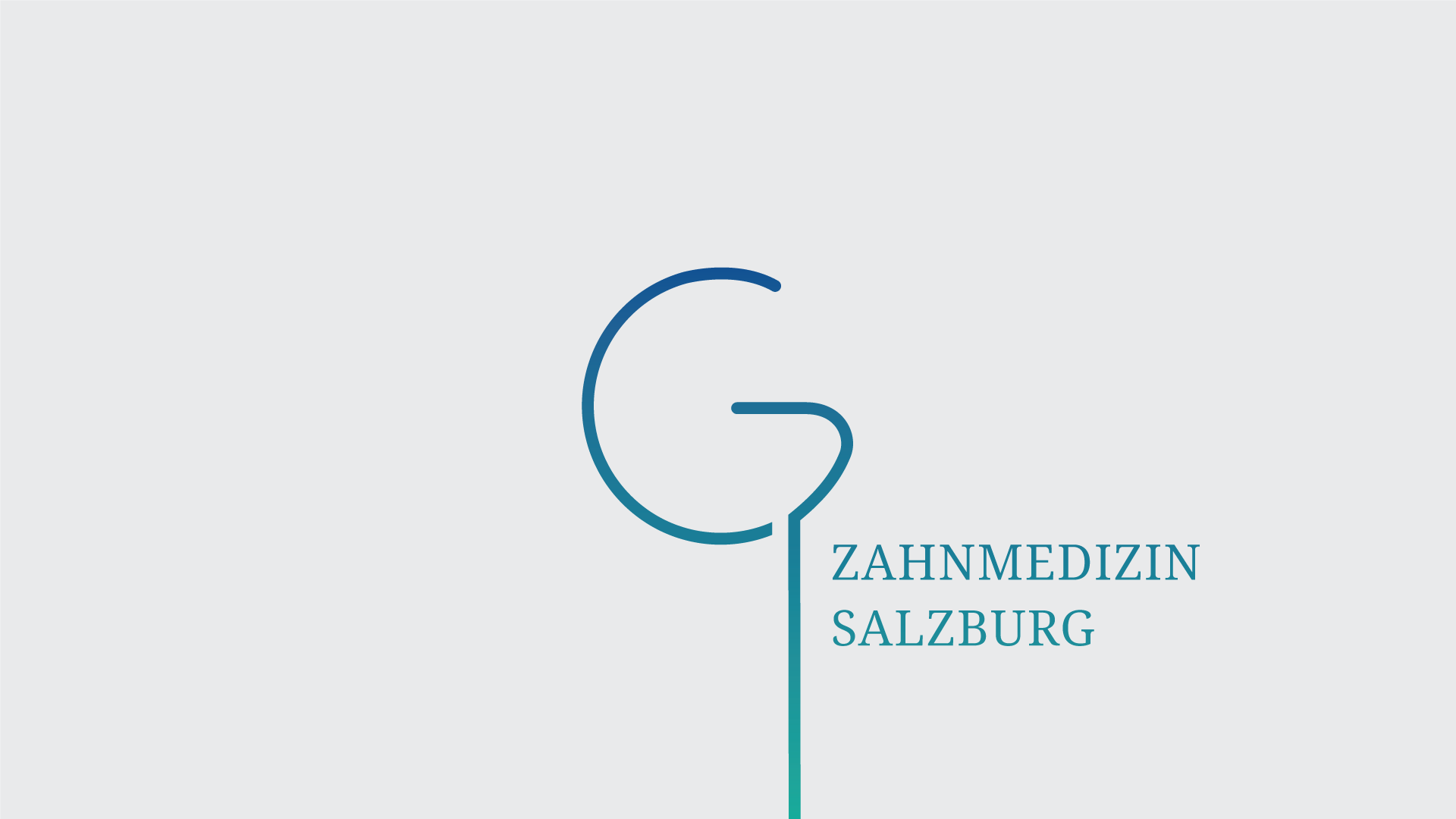 Logo And Brand Identity Design For Salzburg Dentist It Was Required That The Represents Letter G According To Owners Surname