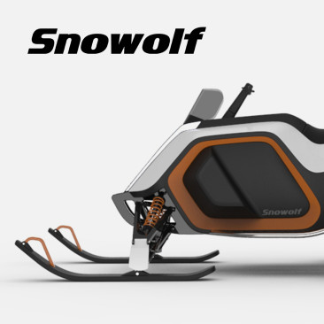 Electric Snowmobile – In Progress